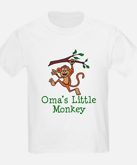 Oma's Little Monkey T-Shirt
