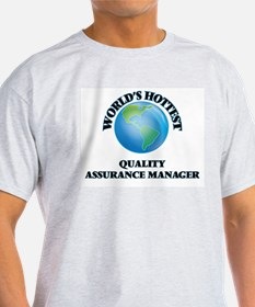 World's Hottest Quality Assurance Manager T-Shirt