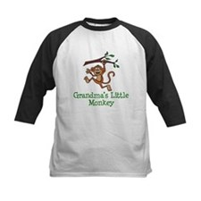 Grandma's Little Monkey Baseball Jersey