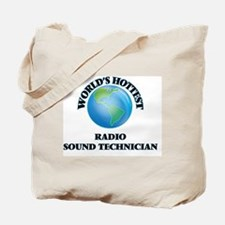 World's Hottest Radio Sound Technician Tote Bag