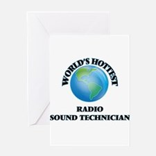 World's Hottest Radio Sound Technic Greeting Cards