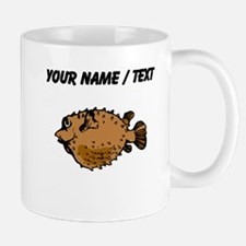 Custom Puffer Fish Mugs