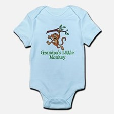 Grandpa's Little Monkey Body Suit