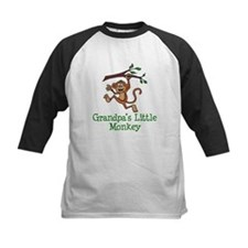 Grandpa's Little Monkey Baseball Jersey