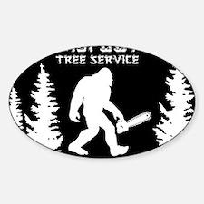 Bigfoot Tree Service Decal