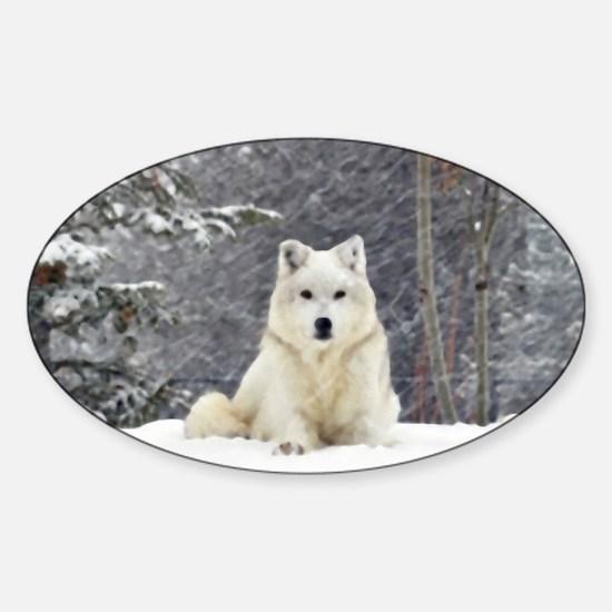 Husky Sticker (Oval)