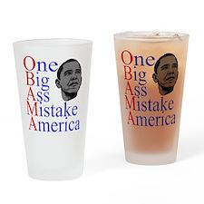 obama anti.png Drinking Glass