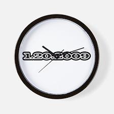 1-20-2009 Wall Clock