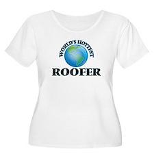 World's Hottest Roofer Plus Size T-Shirt