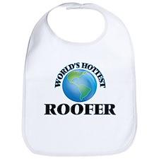 World's Hottest Roofer Bib