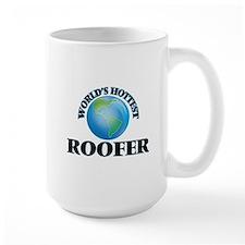 World's Hottest Roofer Mugs