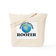 World's Hottest Roofer Tote Bag