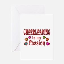 Cheerleading Passion Greeting Card