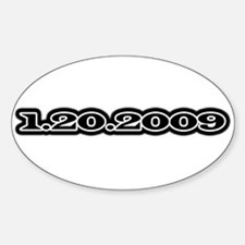 1-20-2009 Oval Decal
