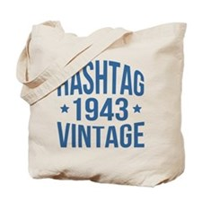 Hashtag 1943 Vintage Tote Bag