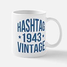 Hashtag 1943 Vintage Mug