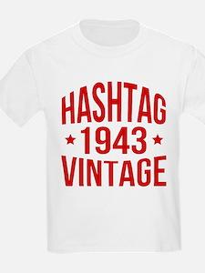 Hashtag 1943 Vintage T-Shirt