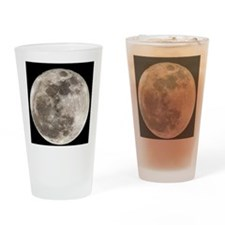 Full moon Drinking Glass