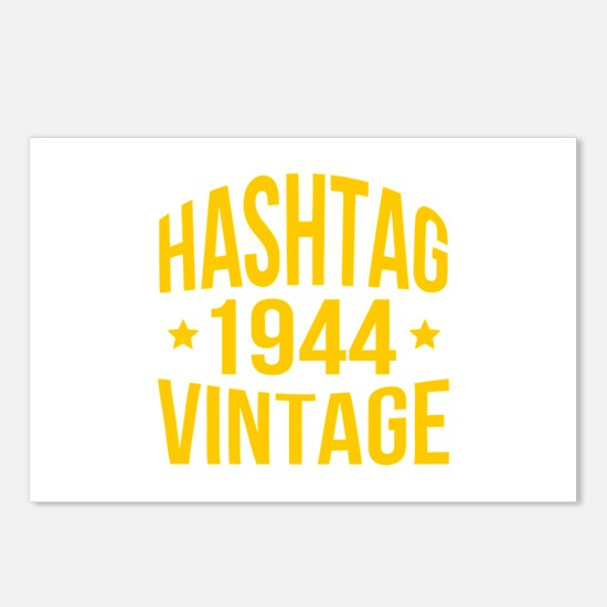 Hashtag 1944 Vintage Postcards (Package of 8)