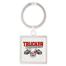 Trucker 'Till The End Keychains