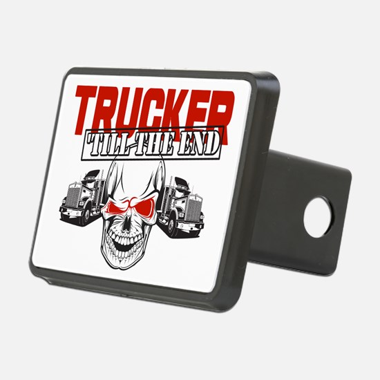 Trucker 'Till The End Hitch Cover