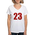 Alluring 23 Women's V-Neck T-Shirt