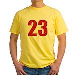 Alluring 23 Yellow T-Shirt