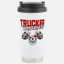 Trucker 'Till The End Travel Mug