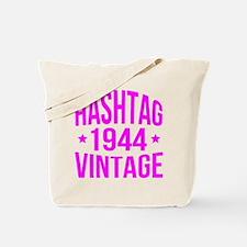 Hashtag 1944 Vintage Tote Bag