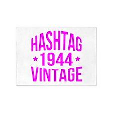 Hashtag 1944 Vintage 5'x7'Area Rug