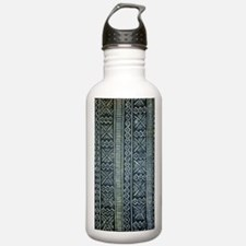 Mud Cloth Inspired  Water Bottle