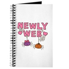 Funny Newly Web Spiders Newly Wed Journal