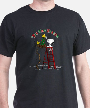 Peanuts Tis the Season T-Shirt