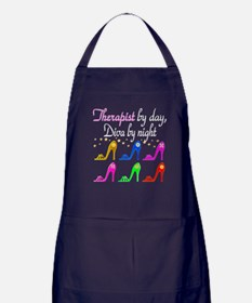 FIERCE THERAPIST Apron (dark)