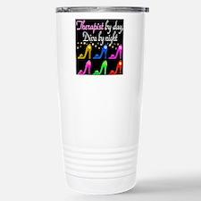 FIERCE THERAPIST Stainless Steel Travel Mug