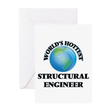 World's Hottest Structural Engineer Greeting Cards