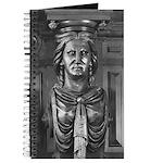 Methuen Carving Woman Journal