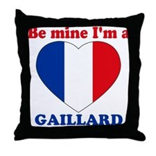 Gaillard, Valentine's Day Throw Pillow