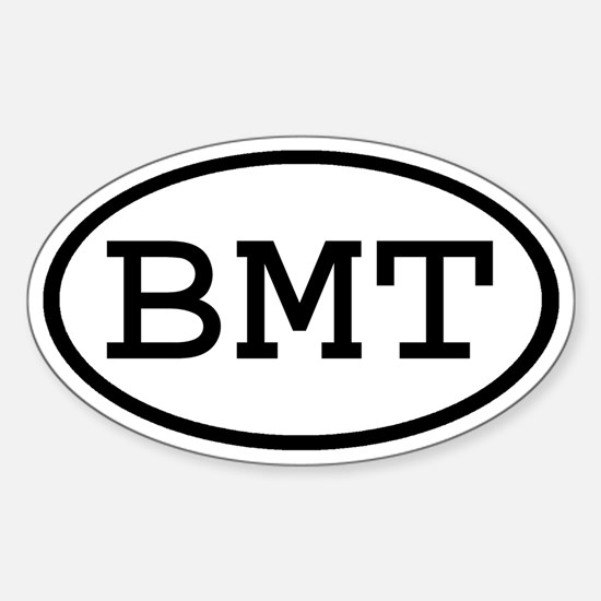 BMT Oval Oval Decal