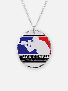1st Battalion 503rd Parachut Necklace