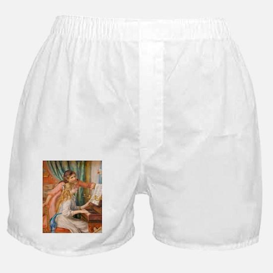 Renoir: Girls at a Piano Boxer Shorts