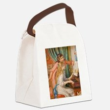 Renoir: Girls at a Piano Canvas Lunch Bag