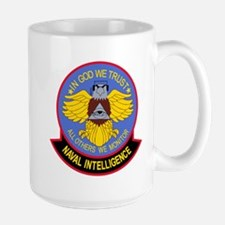 US NAVAL INTELLIGENCE Military Patch IN COD W Mugs