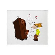 rock star Throw Blanket