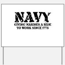 NAVY Yard Sign