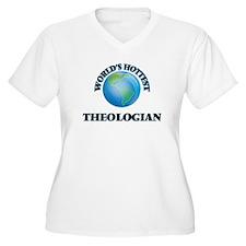 World's Hottest Theologian Plus Size T-Shirt