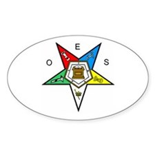 OES Oval Decal