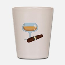 Brandy And Cigar Shot Glass