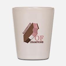 Sandwich Of Champions Shot Glass