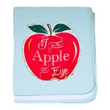 Cute Red apple baby blanket